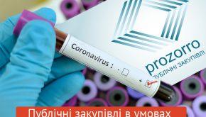 IDF ініціює Всеукраїнський контроль закупівель, необхідних для подолання коронавірусу, для унеможливлення корупції
