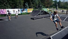 У Чернігові конкурс на зведення скейт-парку виграла фірма, яка почала його будувати ще до тендеру